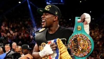 Saúl 'Canelo' Alvarez vs. Floyd Mayweather Jr. round por round