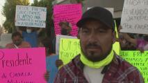Inmigrantes de Oaxaca exigen mayor acción al gobierno mexicano para contener incendios forestales