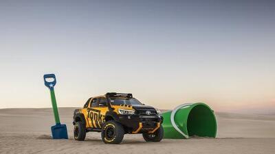 Toyota quiere revivir infancias con una pick up concepto, la HiLux Tonka