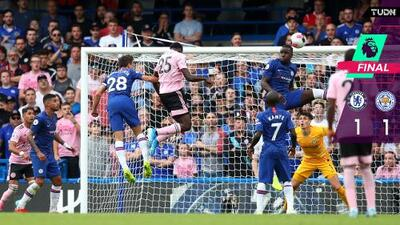 Chelsea y Leicester empatan en bienvenida de Lampard en casa
