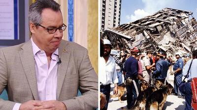 Luis Chao sobrevivió al terremoto de 1985 en México tras vivir más de 50 horas bajo los escombros