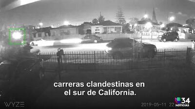 Una joven pierde la vida tras choque relacionado con una carrera clandestina en Los Ángeles