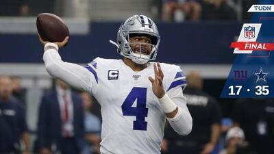 Cowboys debuta con triunfo en temporada 100 de la NFL