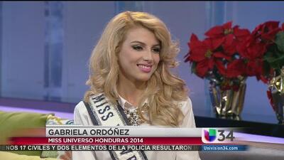 Miss Universo Honduras 2014 se enfrenta a la violencia