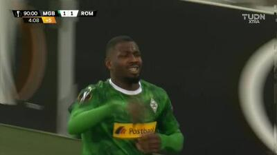 Thuram puso el segundo para el Mönchengladbach en la agonía