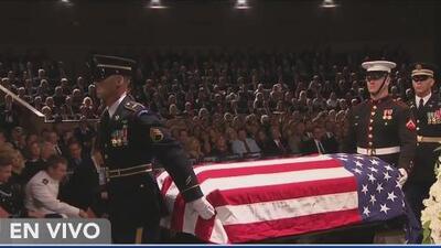 Realizan ceremonia religiosa en memoria a John McCain