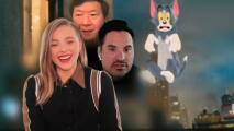 Los protagonistas de 'Tom y Jerry: The Movie' cuentan cómo fue filmar esta cinta de personajes animados