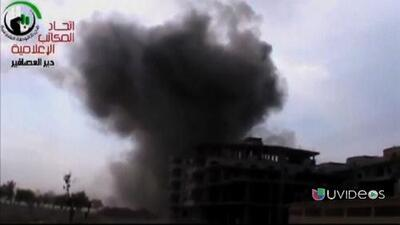 Ataques aéreos israelíes en Siria