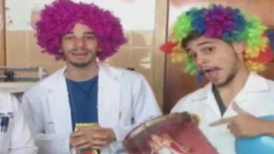 Ante la falta de insumos, médicos y estudiantes de medicina llevan alegría y esperanza a los pacientes venezolanos