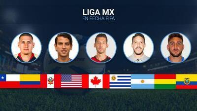 Liga MX 'mantiene actividad' con 27 jugadores convocados en la Fecha FIFA