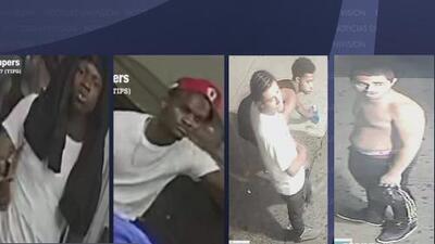 Policía busca a cuatro sospechosos de un robo en el que la víctima terminó con la columna fracturada