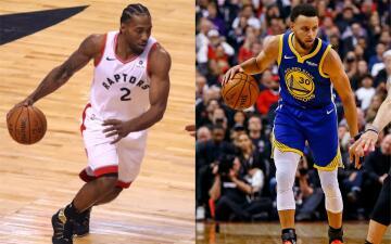 Kawhi Leonard vs. Stephen Curry: Pese a que el astro de Toronto no salió en su noche, triunfó