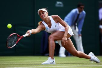 Adiós a una gran esperanza latina: Monica Puig quedó eliminada de Wimbledon