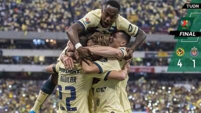 América 4-1 Guadalajara – Goles y Resumen – Jornada 12 – Apertura 2019 – Liga MX