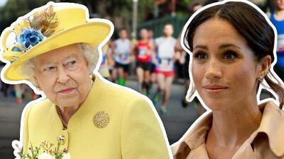 La reina de Inglaterra prohíbe a Meghan Markle ¿sudar en público?