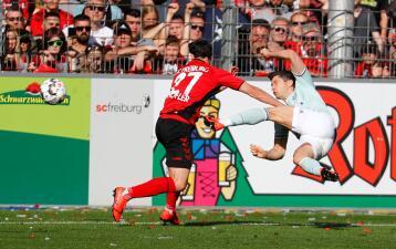 En fotos: Bayern Munich empató de visita al Friburgo y perdió el liderato de la Bundesliga