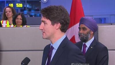 Culmina el viaje de primeros refugiados sirios a Canadá