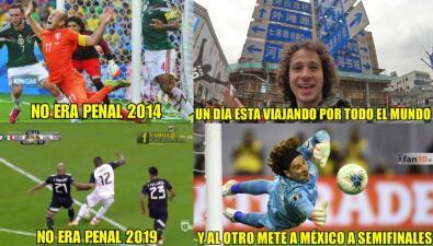 Los memes se rinden ante 'Memo' Ochoa en el paso de México a Semifinales de Copa Oro