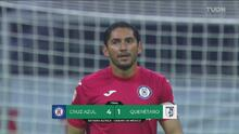 Resumen | Cruz Azul hila triunfos al propinar goleada 4-1 a Gallos