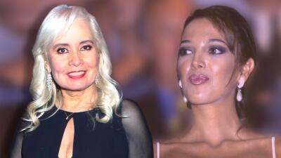 Carla Estrada le pide a Adela Noriega que le conteste el teléfono para el remake de 'El privilegio de amar'