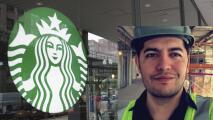 La historia de un mexicano que logró participar en el diseño del Starbucks más grande del mundo