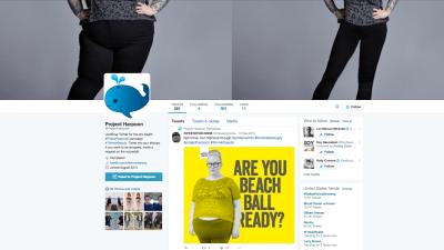 Project Harpoon: la incómoda cuenta de Twitter a la que le molestan las curvas
