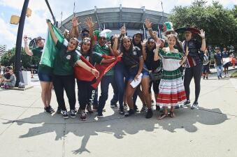¡Invasión a Charlotte! Los mexicanos están listos para el juego de Copa Oro contra Martinica