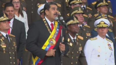 Nicolás Maduro vincula a miembros del ejército venezolano en el supuesto atentado en su contra