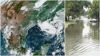 Depresión tropical podría convertirse en huracán amenazando Texas y Luisiana