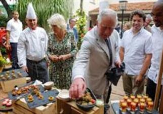 Amante el príncipe Carlos de las croquetas cubanas: no salió de La Habana sin llevarse la receta