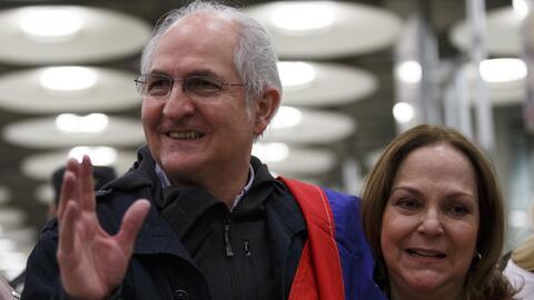 Tras fugarse de Venezuela, Antonio Ledezma habla de los planes para ayudar al país desde afuera