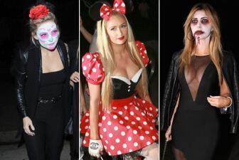Disfraces de los famosos en Halloween