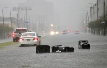 En fotos: Nueva Orleans inundada y en 'estado de emergencia' por fuertes tormentas