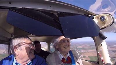 Ellos siguen cumpliendo sus sueños a los 90 años de edad
