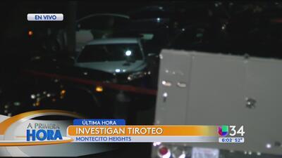 Tiroteo en Montecito Heights