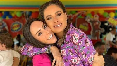 Galilea Montijo fue 'atacada' por Inés Gómez Mont en la fiesta de su hijo (y tienes qué ver cómo quedó)