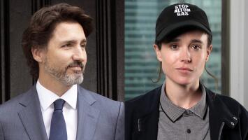 """""""Tu valor y fortaleza inspiran"""": el mensaje de Justin Trudeau a Elliot Page tras anunciar que es transgénero"""