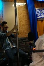 Alexis y Fido en el show de Enrique Santos