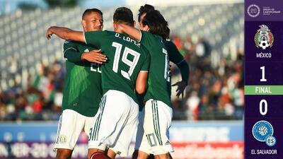¡México ya está en el Mundial Sub-20! El Tri vence al Salvador y obtiene boleto