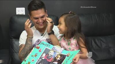 La hija de Regulo Caro le preparó una hermosa sorpresa con la ayuda de Fer