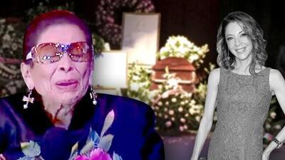 Fotos: así fue el emotivo homenaje a Edith González de su familia y amigos