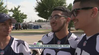 Fanáticos listos para Dallas Cowboys vs Houston Texans