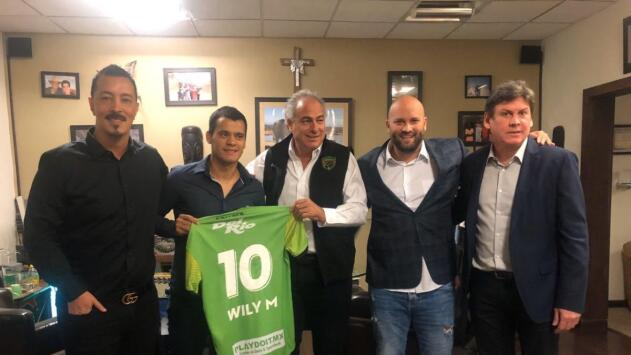 William Mendieta es el primer refuerzo de FC Juárez