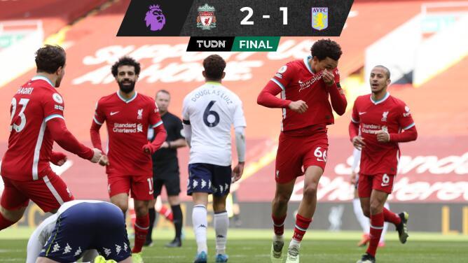 ¡Se acabó la maldición! Liverpool gana en Anfield tras cuatro meses