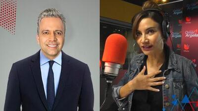 """""""Yo no me lo pintaría"""": Omar le pregunta a Argelia qué piensa de tener su pelo canoso"""