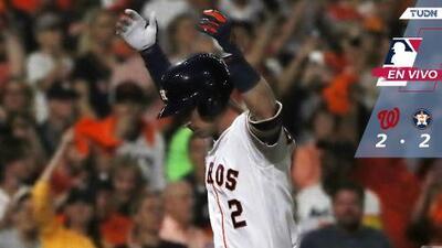 Serie Mundial, Juego 2: Nationals y Astros inician con el bat caliente