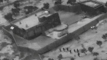 Revelan las primeras imágenes de la operación en la que fue abatido el líder de Estado Islámico