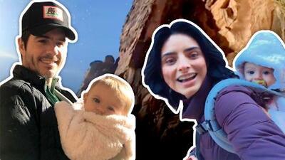 """Aislinn Derbez y Mauricio Ochmann se aventuraron con su hija """"todo terreno"""" en una travesía que querrás hacer"""