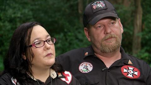 """""""No soy racista"""", la respuesta de un miembro del Ku Klux Klan a Ilia Calderón"""