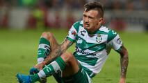 Brian Lozano es baja indefinida con Santos por una nueva cirugía